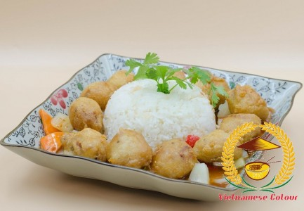16. Sweet and sour battered pork