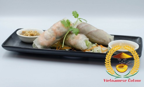 1. Cold spring rolls