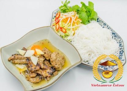 6.Chargrilled pork Hanoi
